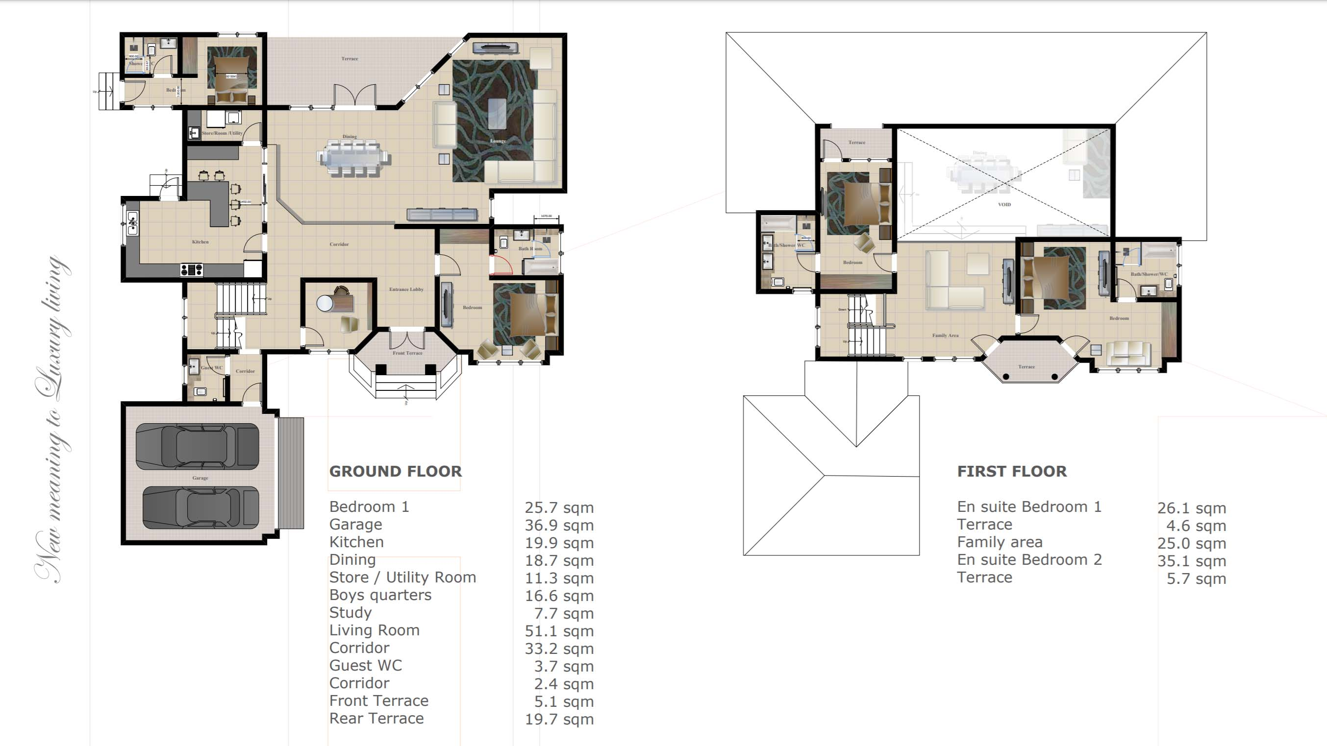 Chain Homes Harriot Plan