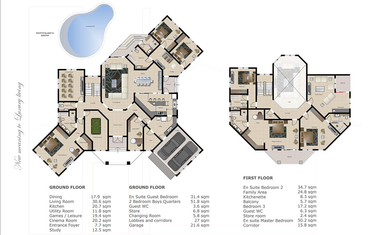 Chain Homes Majestic Plan